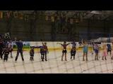 Новогоднее представление на льду. Танцы с Дед Морозом. ДЮСШ 3 2014 год